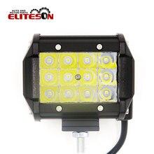 Eliteson 1 PC 4 Inch 36W 3 Row Led Work Light Spot Auto Offroad Led Bar Driving Lights SUV ATV 4X4 4WD