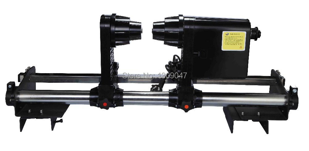 Large format  printer paper take up system auto take up reel system for Mimaki JV3 JV33 JV5 JV2 JV4 series printer auto paper auto take up reel system for all roland sj sc fj sp300 540 640 740 vj1000
