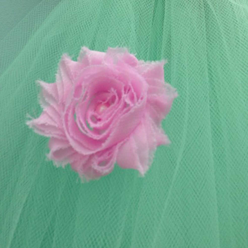 3959b40aaadbb ... Vintage Roses Pale Pink Mint Flower Girl Tutu Dress Kids Shabby Chic  Flowers Available Bridesmaid Wedding