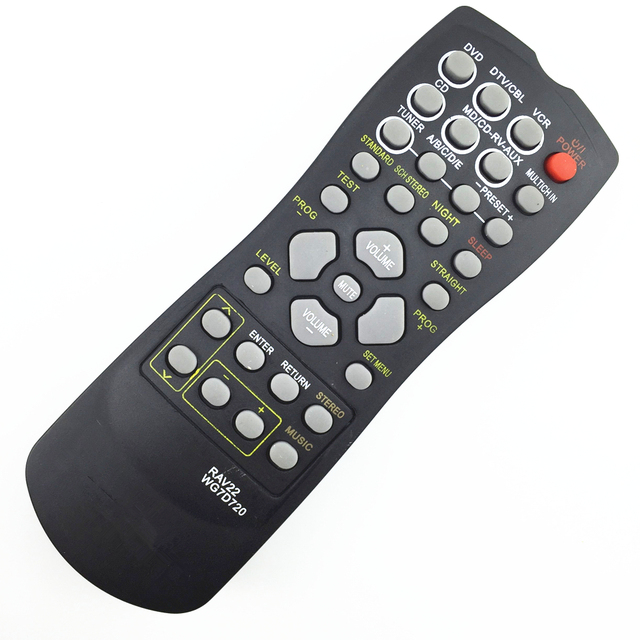 remote control suitable for Yamaha RAV22 WG70720  Home Theater Amplifier CD DVD  RX-V350 RX-V357 RX-V359 HTR5830