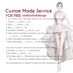 Image 4 - 2020 Robe De Mariee Luxurious Wedding Dresses Floor Length Lace Mermaid Custom Made Bridal Gowns Vestido De Novia Sirena