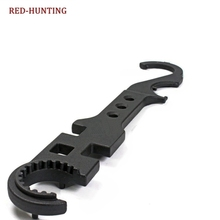 YAOGONG Hunting AR15 Steel Wrench Shooting Combo Armorer's Wrench Tool Handguard Tool topeak combo torq wrench