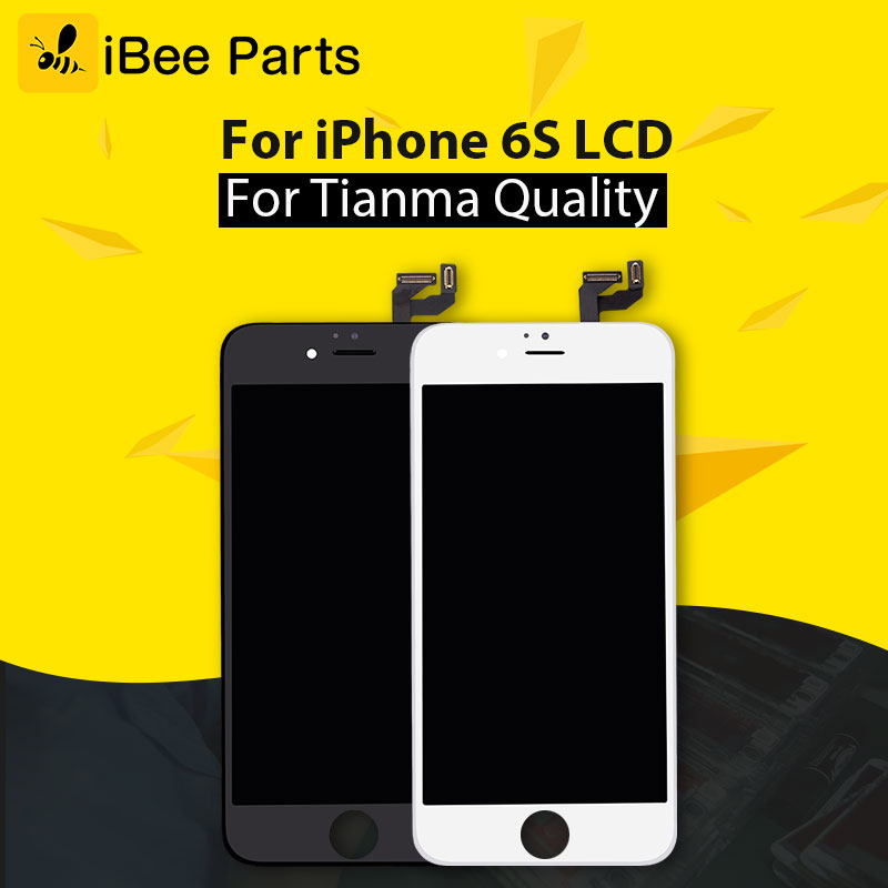 iBee Parts 10PCS Grade AAA For Tianma quality For iPhone 6S LCD Screen Display replacement Free shipping ...