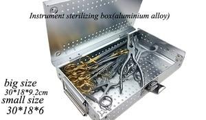 Image 2 - רפואי אורתופדי dentel כירורגית מכשיר אלומיניום סגסוגת אחסון חיטוי תיבת HTHP חומרים מקרה עם HTHP סיליקון pad