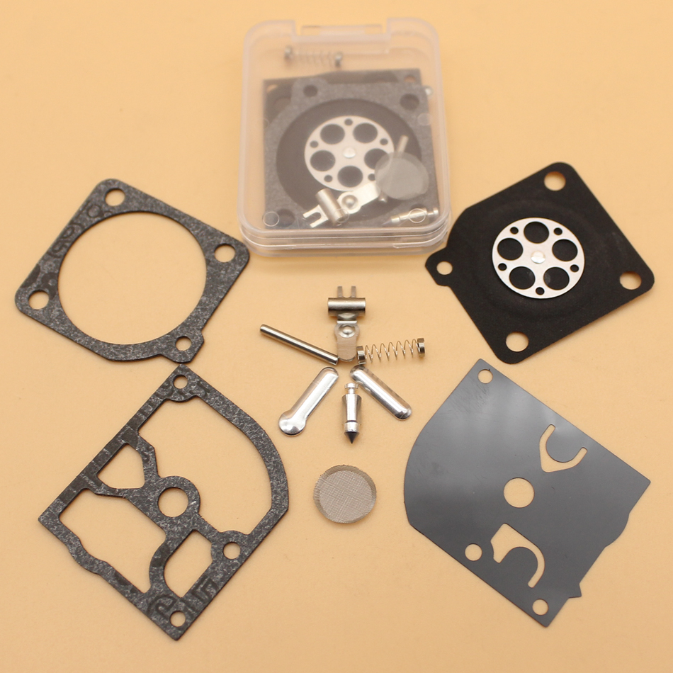 2Pcs/lot Carburetor Carb Repair Kit For HUSQVARNA 136 137 141 142 334T 338 XPT Chainsaw Zama C1Q-EL33 / C1Q-EL33A