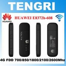 Orijinal Unlocked Huawei E8372h 608 150Mbps 4G LTE Wifi Modem Dongle Surfstick veri kartı E8372 desteği 10 wifi kullanıcıları PK E8278