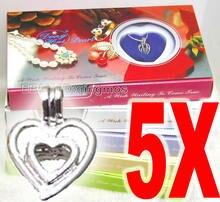Популярный подарок распродажа набор из 5 разных кулонов с жемчугом