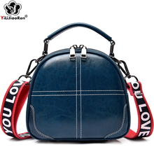 Fashion Genuine Leather Ladies Hand bags Famous Brand Small Female Handbags Luxury COW Leather Crossbody Bags for Women 2019 SAC fashion panelled women leather handbags small colorful tote bag famous brand crossbody bags for woman new ladies hand bags 2017