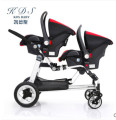0 - twins baby stroller double front and rear KDS twins stroller car seat twins