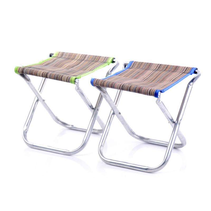 Online Shop Spring Autumn Outing Mini Stripe Stools Foldable Fabric Bench  Portable Stool Outdoor Activity Tool Fishing Traveling Necessity |  Aliexpress ...