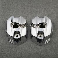 1 пара Chrome Левый и правый головки цилиндра, клапан Чехлы для BMW R1200GS K25 Приключения K255 2010