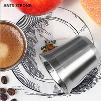 ANTS STRONG Double wall thermo capsule coffee cup/stainless steel anti scald anti fall teacup nestle same style coffee mug