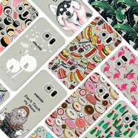 Case For Samsung Galaxy S5 Colorful Printing Drawing TPU Soft Phone Cover For Samaung I9600 Fashion