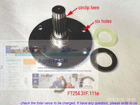 foton-ft254-tractor-parts-the-new-designed-front-drive-shaft-with-seal-part-number-ft25431f111a