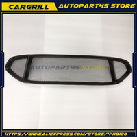 1x Front Bumper Upper&Lower Carbon Fiber Grille For Ford Mondeo/Fusion 2013 2016