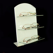 Clear Acrylic Counter Sunglasses Eyeglasses Jewelry Display Stand