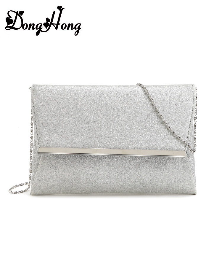 Quality Leather Women Party Day Clutches Shoulder Bag Women Handbag Fashion Clutch Purse Metal Chain Wallet Bolsa Feminina  2016 fashion mini laser metal chain letters pu leather clutch purse wallet chain messenger bag shoulder bag handbag 6 colors