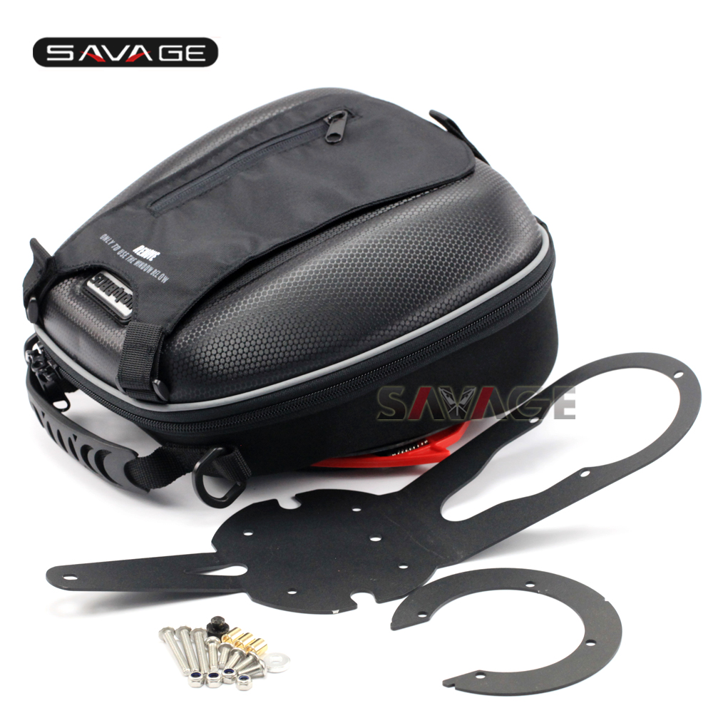 For YAMAHA MT-07/FZ-07 2014-2017 Motorcycle Multi-Function Waterproof Luggage Tank Bag Racing Bag motorcycle tank bag sports helmet racing motobike backpack magnet luggage travel bag water resistance
