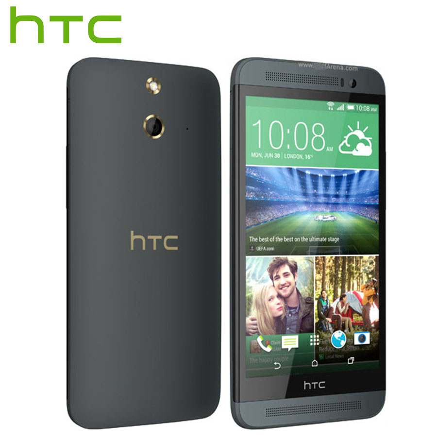 Brand New HTC One E8 M8Sw 4G LTE Handy 5,0 zoll Qualcomm Snapdragon 801 2,5 GHz 2 GB RAM 16 GB ROM 13MP 2600 mAh Smartphone