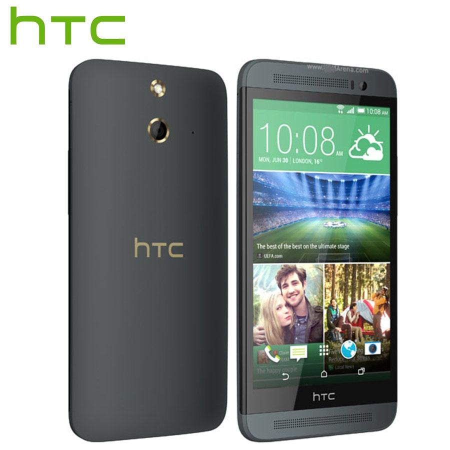 Brand New HTC One E8 M8Sw 4G LTE Mobile Phone 5.0 inch Qualcomm Snapdragon 801 2.5GHz 2GB RAM 16GB ROM 13MP 2600mAh Smart Phone