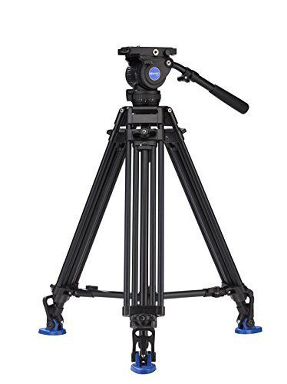 New Film Tripod Video Camera Stabilizer benro bv8 Professional Support For Television Camcorder Aluminum High Quality benro aluminum tripod 3 8 super strong impact resistance horizontal axis camera tripod multifunctional alloy tripod ga169t
