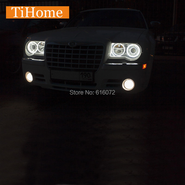 CCFL angel eyes for chrysler 300c 2005 2006 2007 2008 2009 2010 NON-Projector 300c Halo Ring kit free shipping