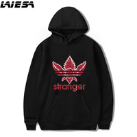 LIESA Men Hoodies Sweatshirt For Women New 2018 Stranger Things Hoodie Casual Pullover Oversized Sweatshirts 4XL