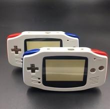 Biały dla gra na nintendo Boy Advance GBA wymienna obudowa Shell Screen