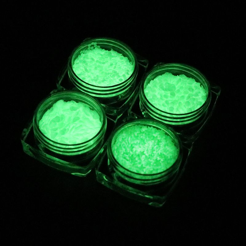 Luminous Sequins Glow In the Dark Glitters Resin Jewelry Findings Nail Art Craft in Jewelry Findings Components from Jewelry Accessories