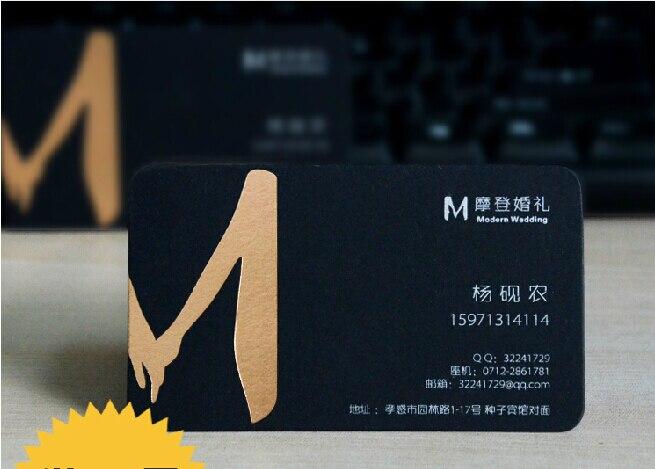 Us 68 59 15 Off Benutzerdefinierte Form 450g Luxus Schwarz Visitenkarten Top Qualität Silber Visitenkarte Druck Schwarze Karte Visitenkarte 500