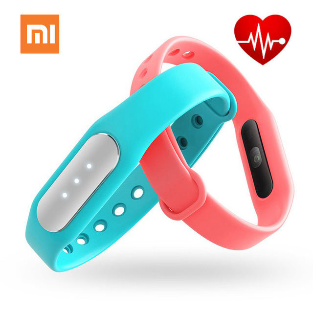 Xiaomi MiBand 1S Pulse 100% Original Heart Rate Smart Bracelet For Android IOS 1 S Fitness Xiaomi Mi Band 1S Pulse