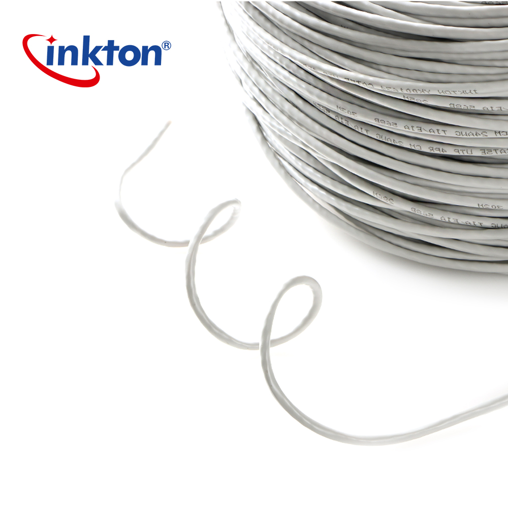 Inkton Ethernet Cable Cat5e Utp Oxyen Free Copper Twisted Pair Wire Wiring Home Network For Engineering Lan 305m 100 Pure In Cables From