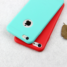 Fashion hot Candy colors silicone soft phone case for iphone 7 7 plus 5 5s se 6 6S plus Protect case cover coque fundas capinha