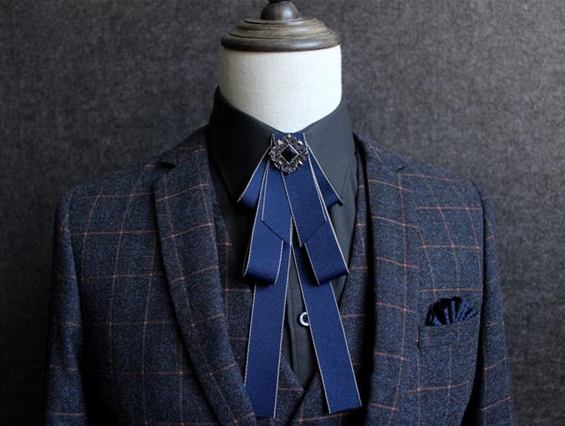 Wedding man married men tie fashion Men's male groom wedding dress Korean female British bow tie on sale