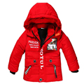 Retail Baby Boy Coat Children Outerwear Coat Fashion Boy Jacket Baby Girls Coat Warm Hooded Children Clothing Kids clothes