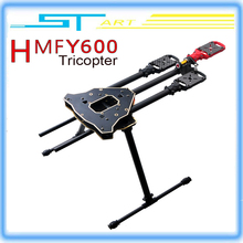 HMF Y600 RC Quadcopter 3 Axis Copter Frame Kit High Landing Gear Gimbal Hanging Rod FPV Drone Y3