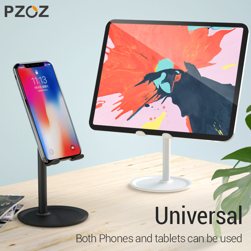 PZOZ Phone Holder Stand Desk For IPhone X XS MAX XR 7 6 IPad Samsung Galaxy S10 S9 S8 Note 8 9 Mobile Phone Stand Tablet Holder