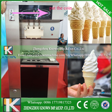 CNF stainless steel ice cream vending machine automatic coins model vending machine ice cream maker