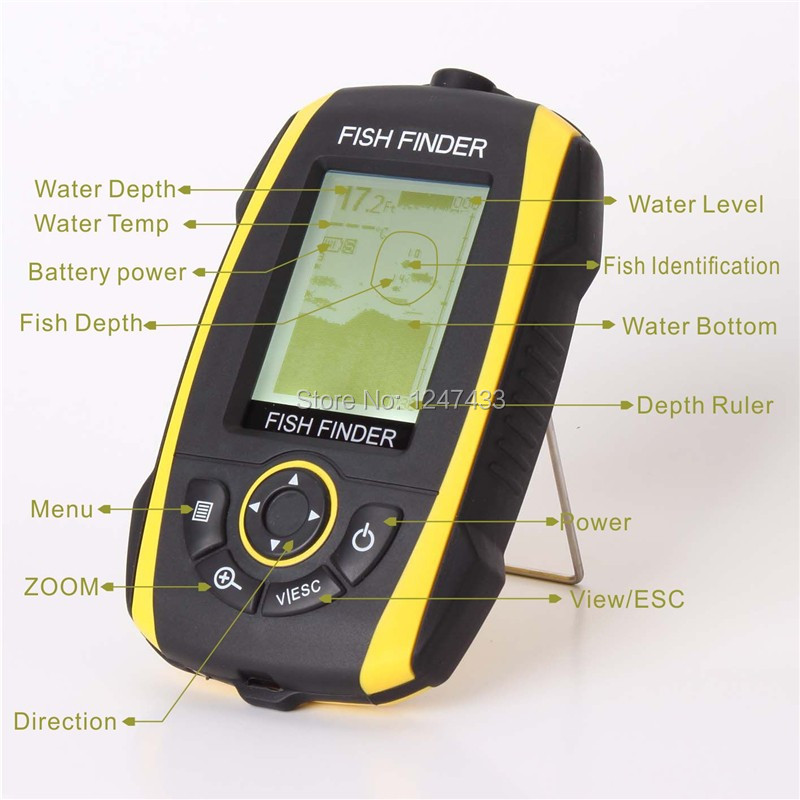 SFF268W Wireless fish finder (2)