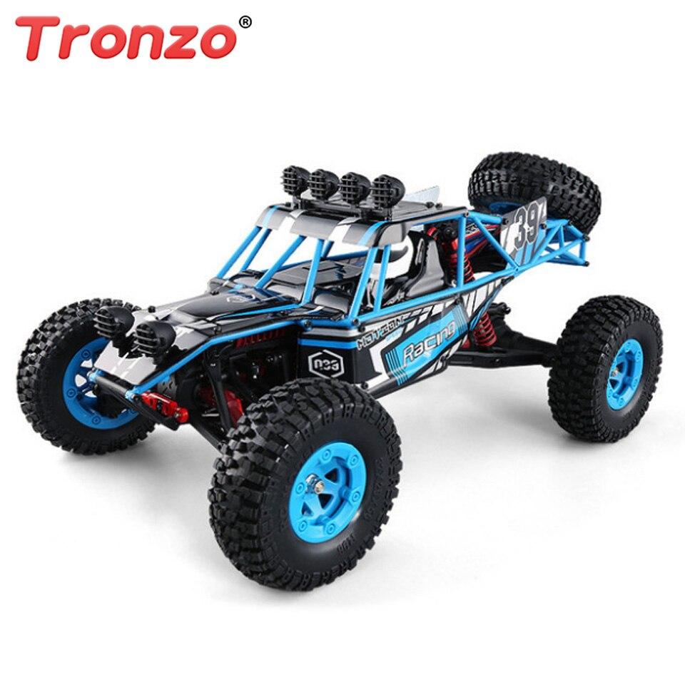 Tronzo RC Voiture 1/12 JJRC Q39 2.4g 4WD 40 km/h Highlandedr Short Course Truck Poweful Radio-Commandé Dirt Bike RC jouets Pour Enfants