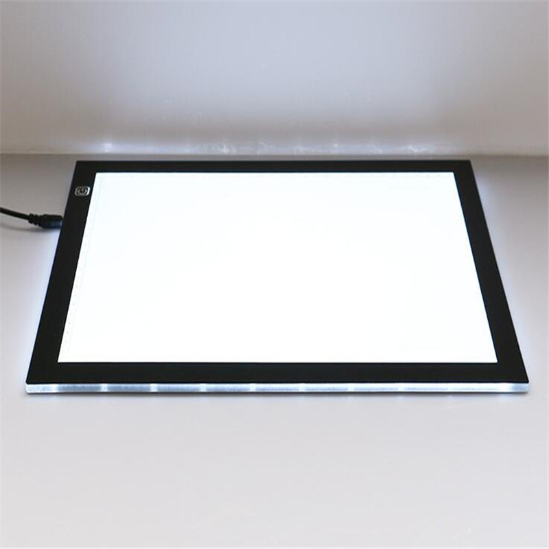 The Best New 5.5mm Super Thin A4 Led Drawing Copy Tracing Stencil Board Table Tattoo Pad Translucent Light Box Usb 1pc Strengthening Waist And Sinews Tattoo & Body Art Beauty & Health