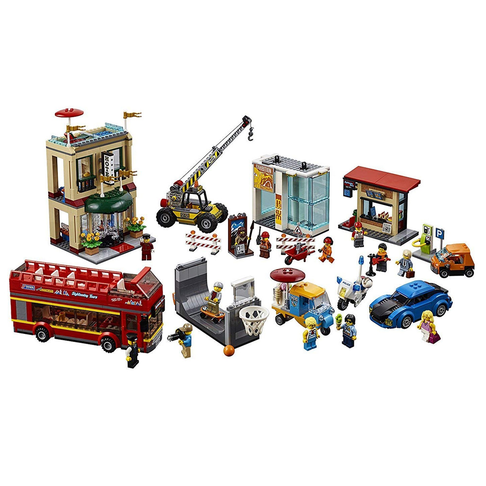 CITY Series Capital City Building Blocks Kits Bricks Sets Classic Model Toys Kids Gift Marvel Compatible Legoe max richter max richter sleep remixed