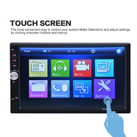 Bluetooth 7 Inch 2 DIN Car MP5 MP4 Player Touch Screen Car Radio Player HD Bluetooth Car Stereo Radio FM /MP5 /USB /AUX