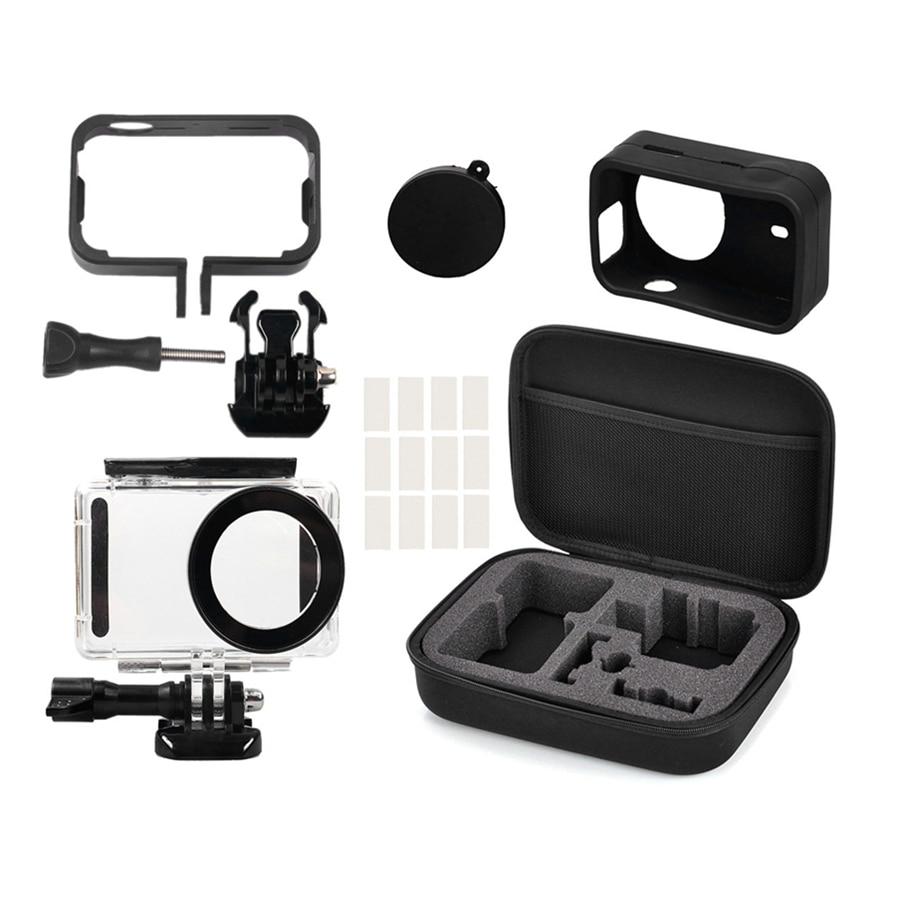 5in1 Full Protect Kit Bag for Xiaomi Mijia 4K Mini font b Camera b font Waterproof