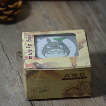 Cartoon Anime Miyazaki Totoro Wooden Music Box Children Birthday Gifts