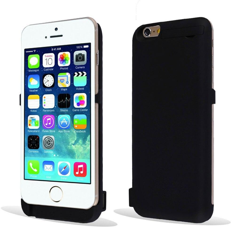 bilder für Energienbank 10000 mah ladegerät case für iphone 6 case hochwertige power zurück phone cases für iphone 6 6 s