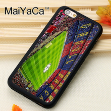 MaiYaCa Barcelona Spain Estadio Camp Nou Soft TPU Skin Phone Case For iPhone 6 6S Plus 7 7 Plus 5 5S 5C SE Back Shell Case Cover