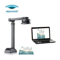 Eloam S500A3B Handy A4 A3 Book Business Card 5.0 Mega Pixel OCR Camera Portable Document Scanner