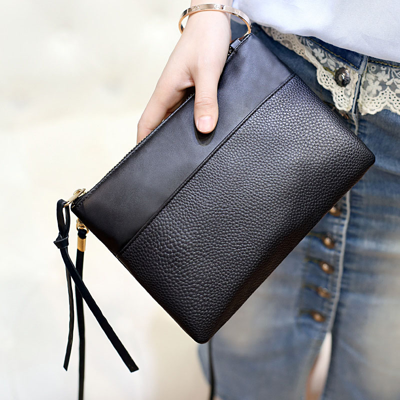 HOBBAGGO Fashion Women Clutch Bag PU Leather Purse Handbags Flap Messenger Crossbody Shoulder Bags  Best Sale- New