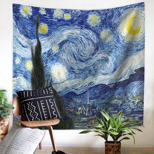 Image 3 - Peinture nuages à motif tournesol et ciel, tapisserie solaire psychédélique en macramé, décoration murale, serviettes de plage, maison de ferme